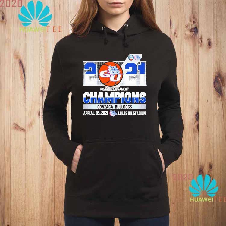 2021 Ncaa Tournament Champions Gonzaga Bulldogs Team Basketball Shirt hoodie