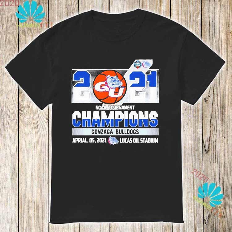 2021 Ncaa Tournament Champions Gonzaga Bulldogs Team Basketball Shirt