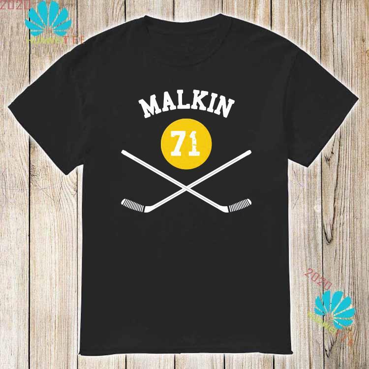 71 Evgeni Malkin Pittsburgh Sticks Shirt