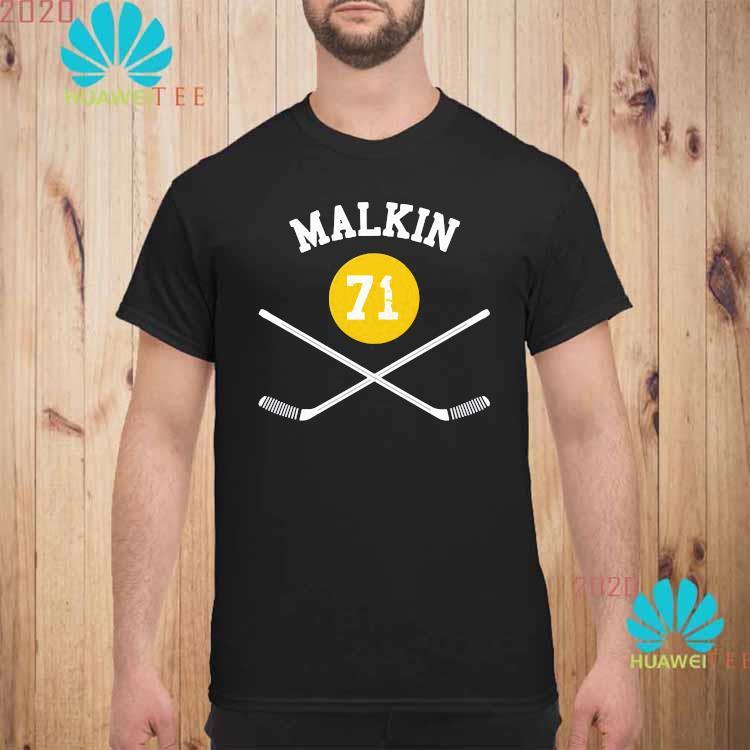 71 Evgeni Malkin Pittsburgh Sticks Shirt unisex