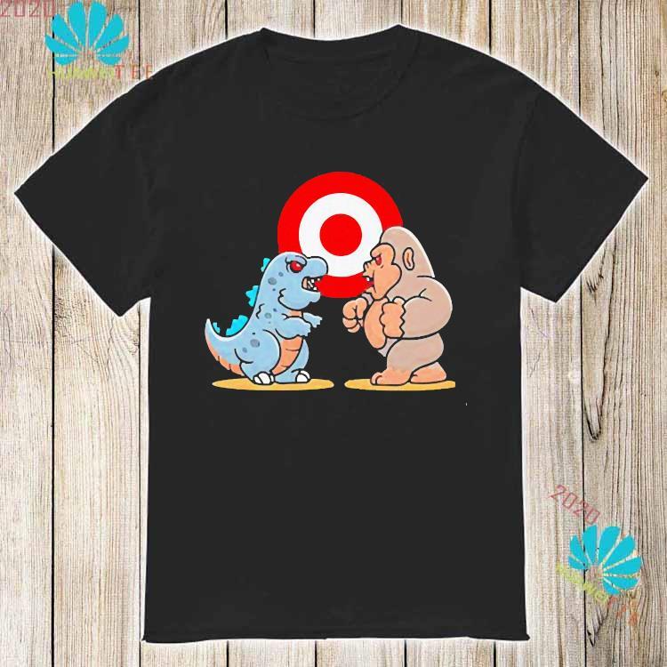 Baby Kong And Baby Godzilla Monster Shirt