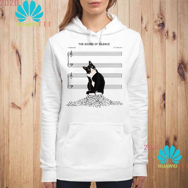 Black Cat The Sound Of Silence Shirt hoodie