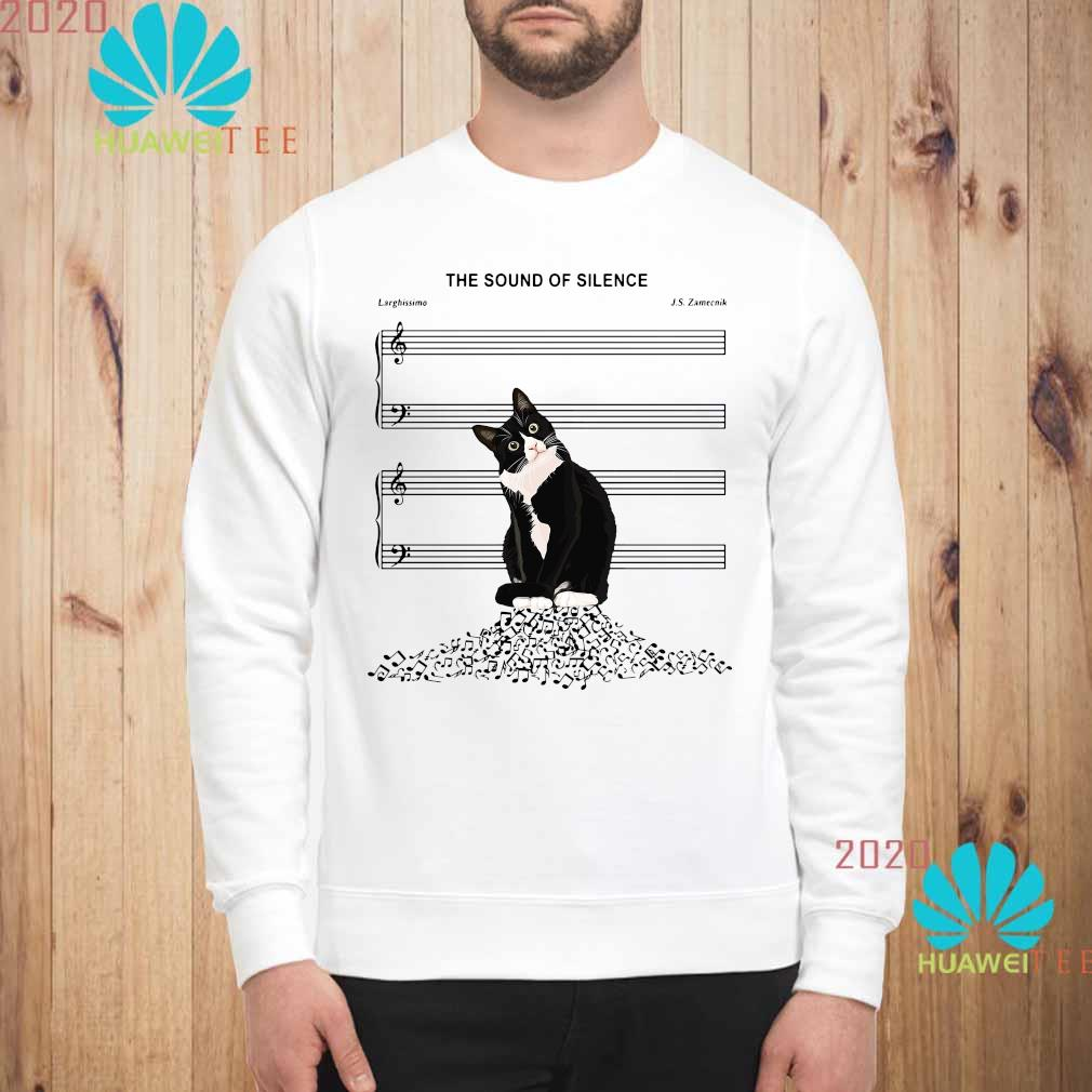 Black Cat The Sound Of Silence Shirt sweatshirt