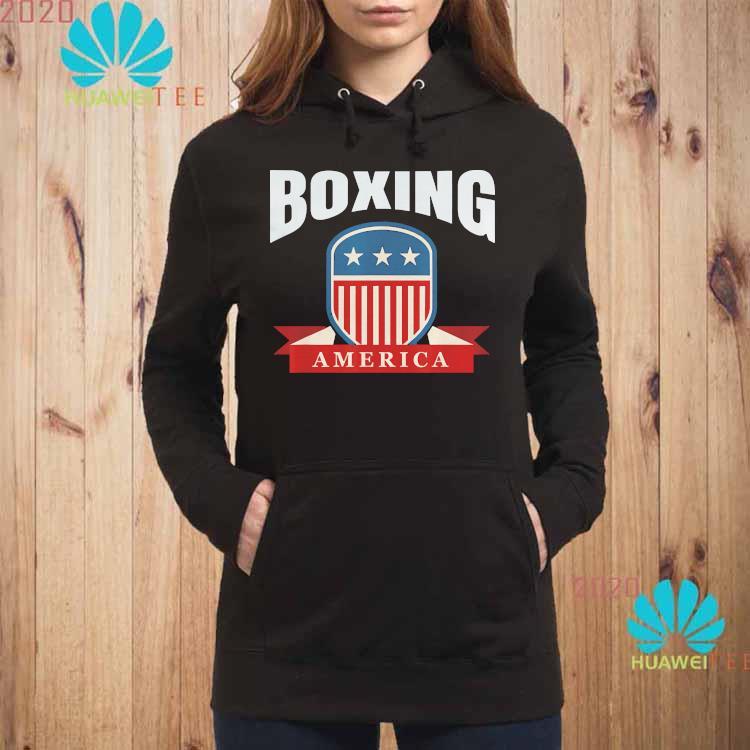 Boxing America Contact Sport Ringside Apparel Usa Shirt hoodie