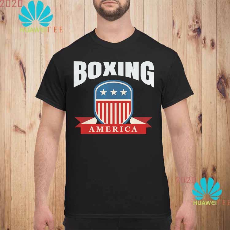 Boxing America Contact Sport Ringside Apparel Usa Shirt unisex