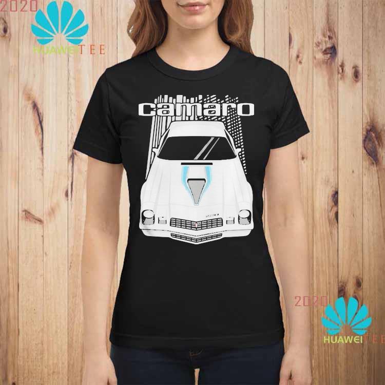 Camaro 2nd Generation 1977 To 1981 Shirt ladies-shirt