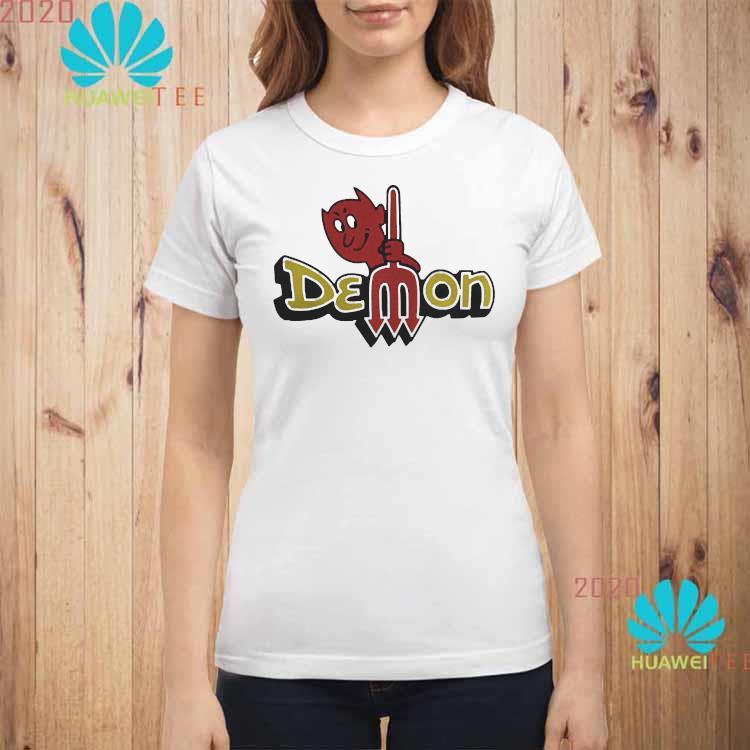 Dodge Demon Logo Shirt ladies-shirt