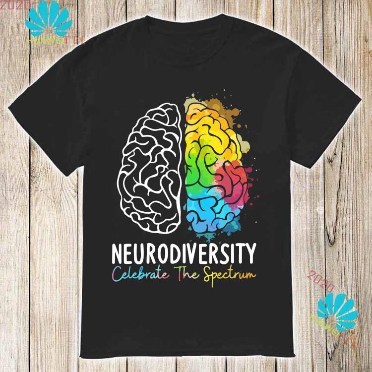 Neurodiversity Celebrate The Spectrum Shirt