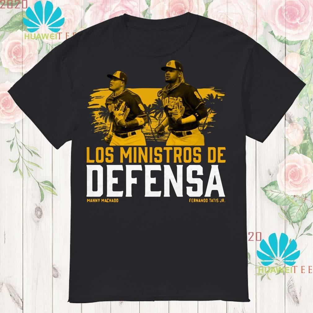 Fernando Tatis Jr Manny Machado Los Ministerio de Defensa shirt