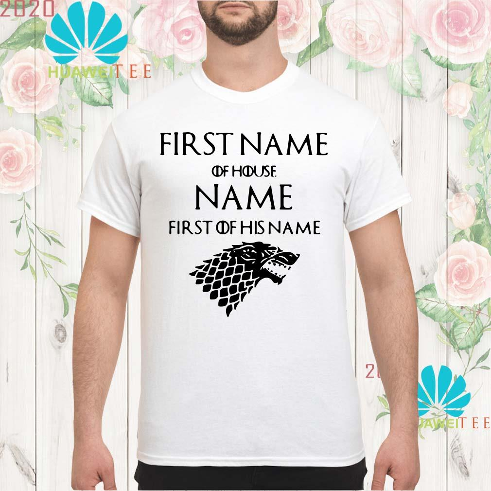 Game of Thrones Jacob of house Williams first of his name Men shirt