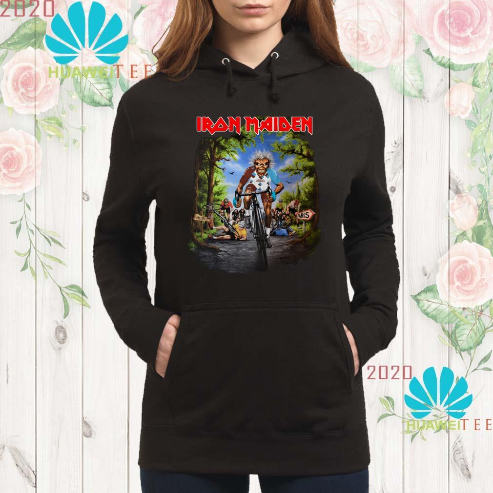 Iron Maiden Tour De France 2019 hoodie