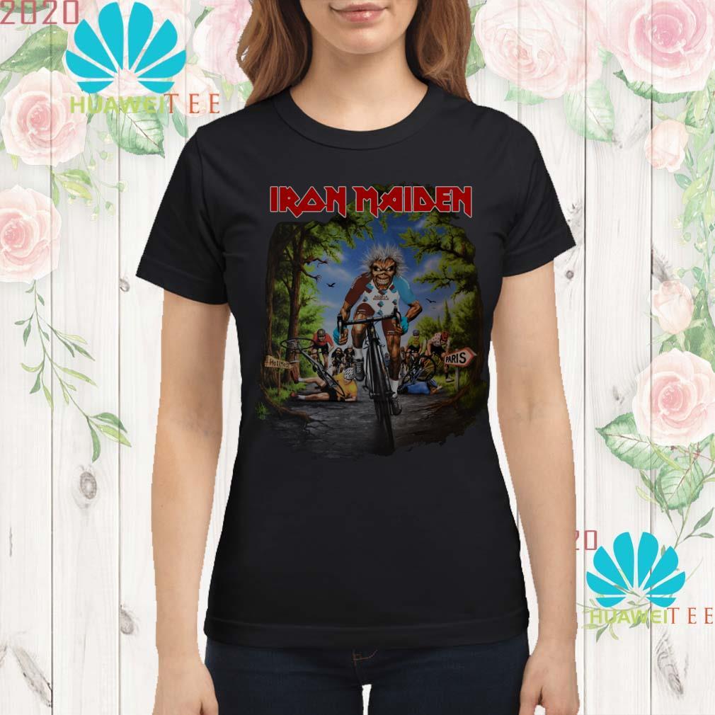Iron Maiden Tour De France 2019 ladies Shirt