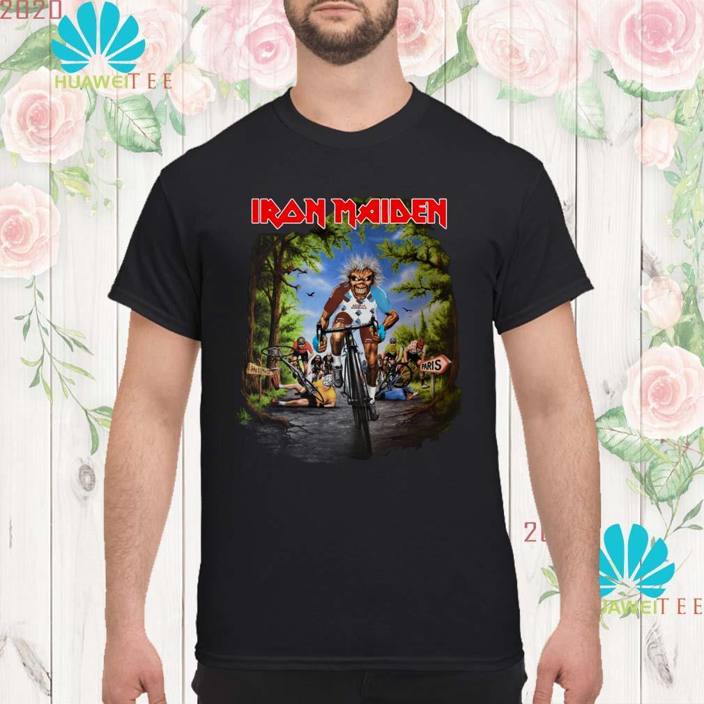 Iron Maiden Tour De France 2019 men Shirt