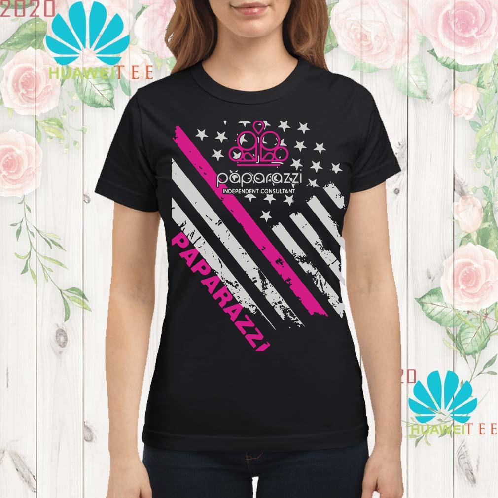 Paparazzi independent consultant paparazzi flag Ladies shirt