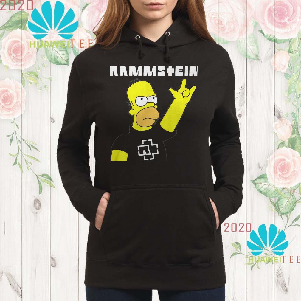 Rammstein Homer Simpson hoodie