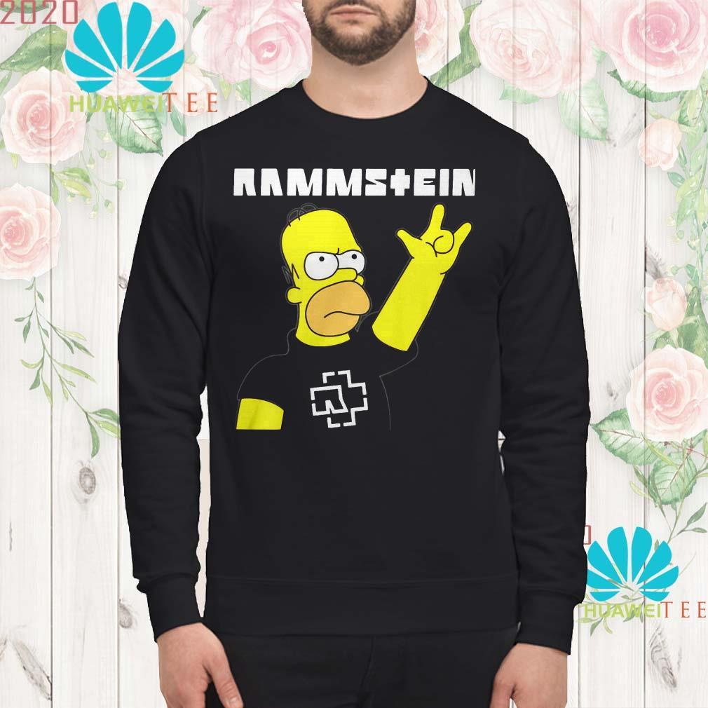 Rammstein Homer Simpson sweatshirt