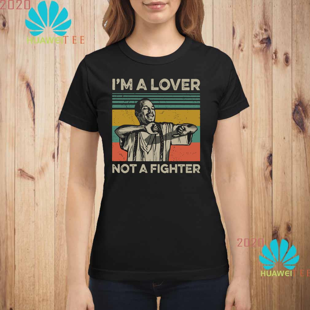 Blood in Blood Out Cruzito I'm a lover not a fighter vintage Ladies shirt