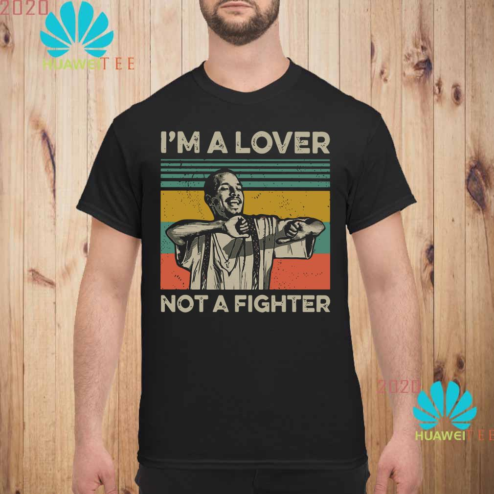 Blood in Blood Out Cruzito I'm a lover not a fighter vintage Men shirt