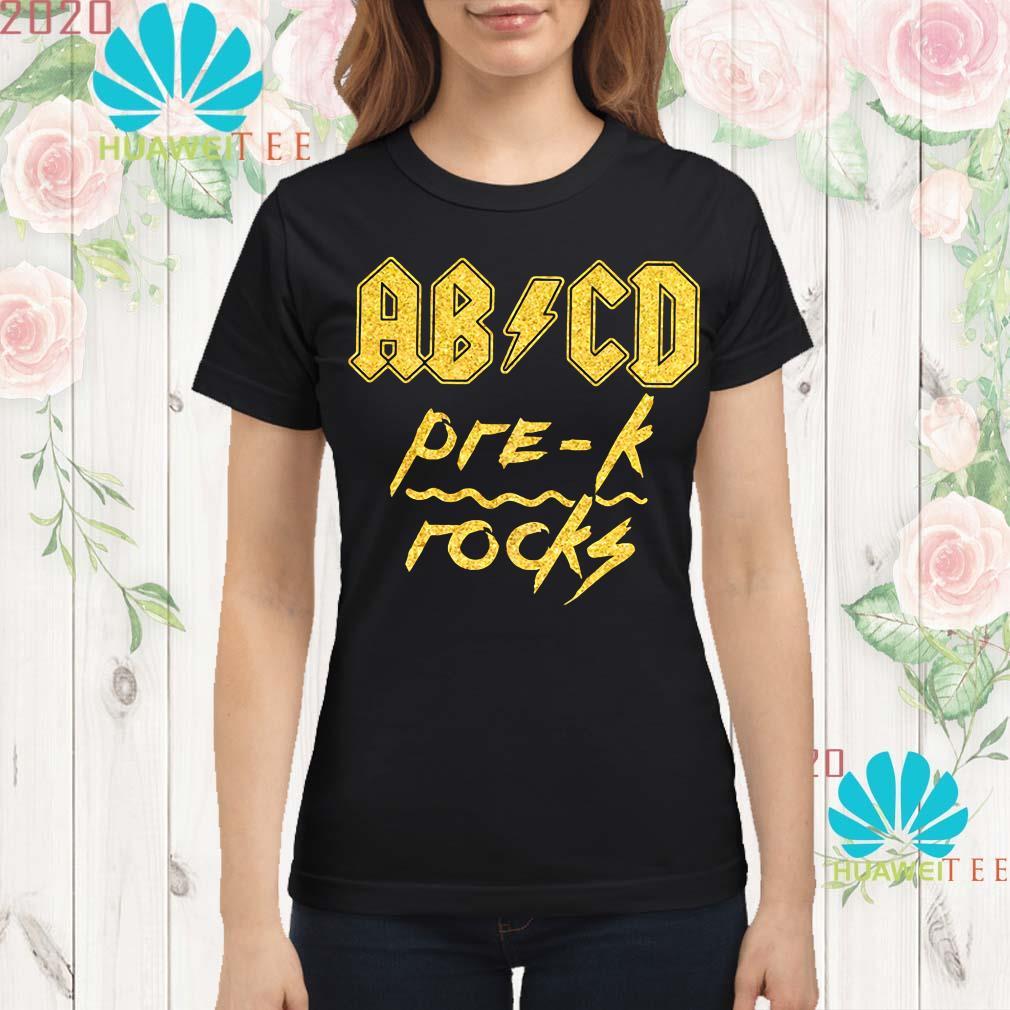 Diamond ABCD Pre-K Rocks Ladies shirt