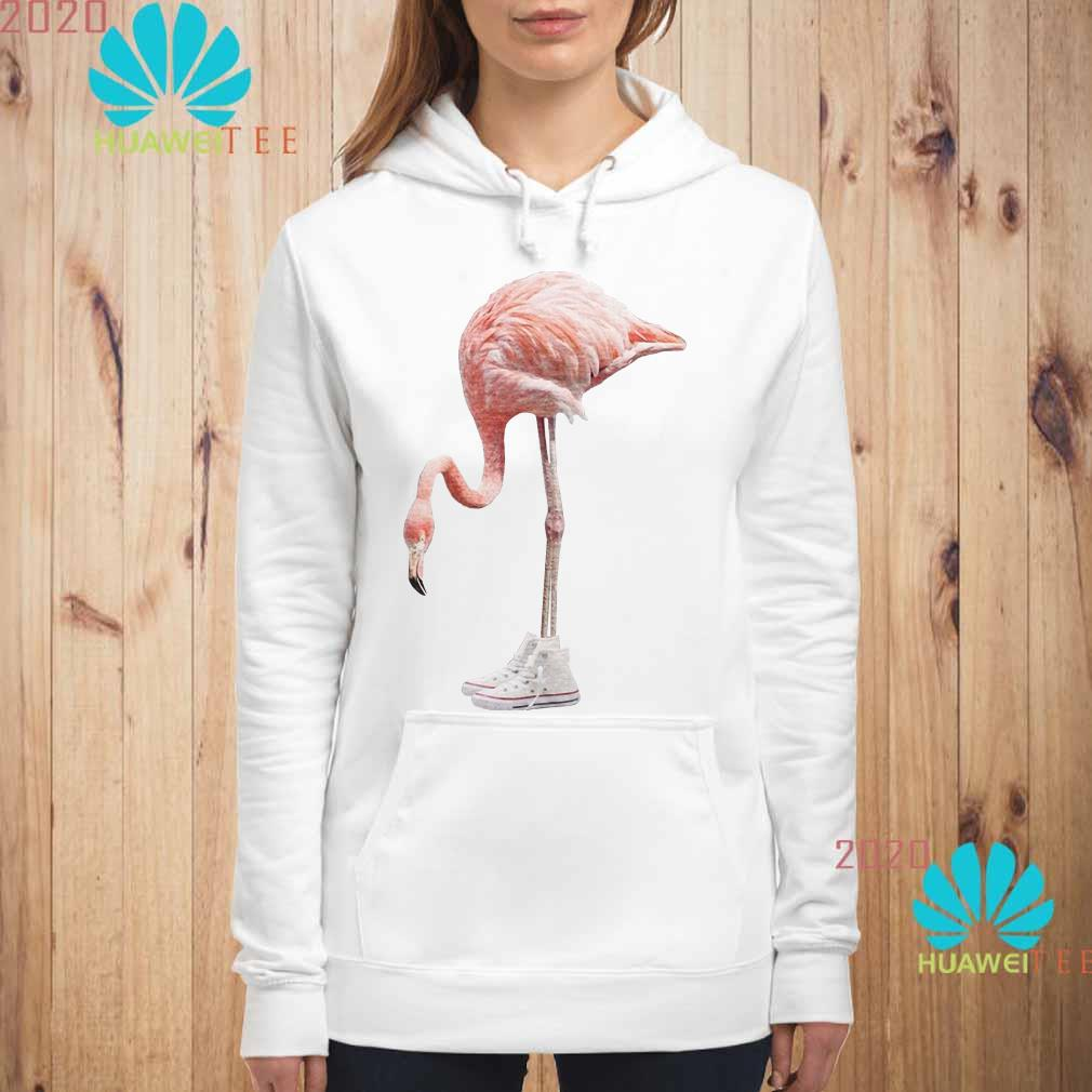 Flamingo and shoe Hoodie
