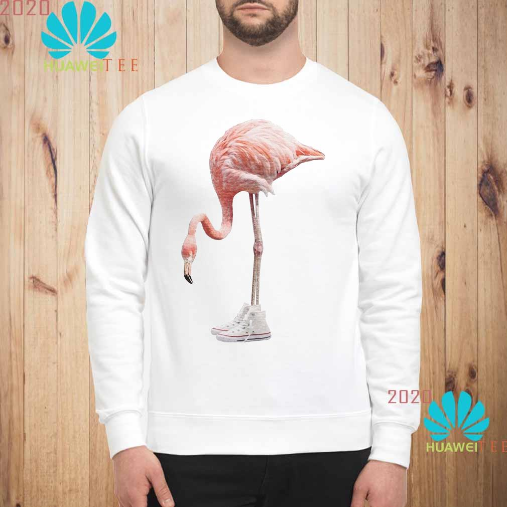 Flamingo and shoe Sweatshirt