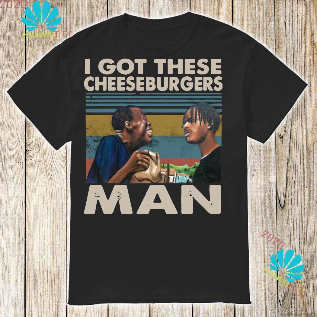 I Got These Cheeseburgers Man Vintage T-Shirt