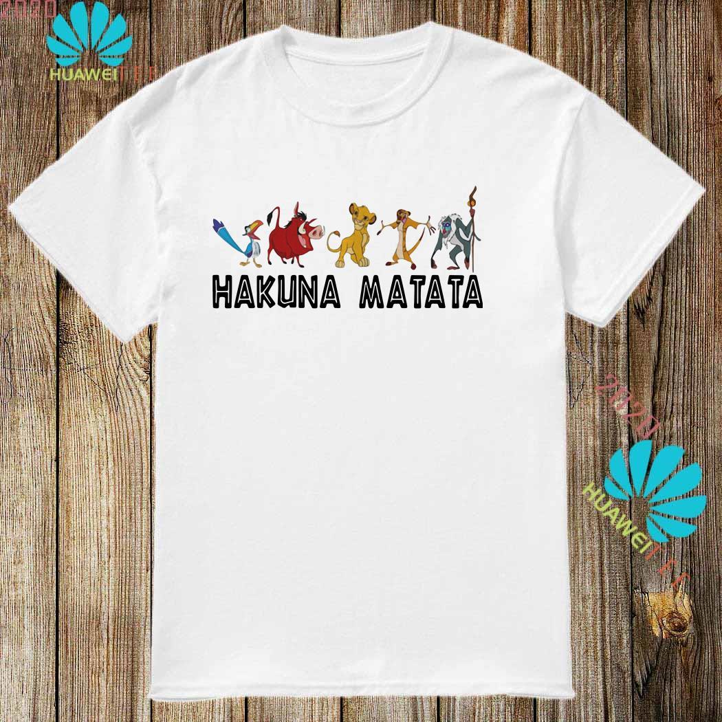 The Lion King Hakuna Matata Shirt Sweater Hoodie And Ladies Shirt