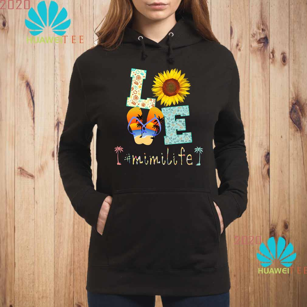 love sunflower and slippers mimi life Hoodie