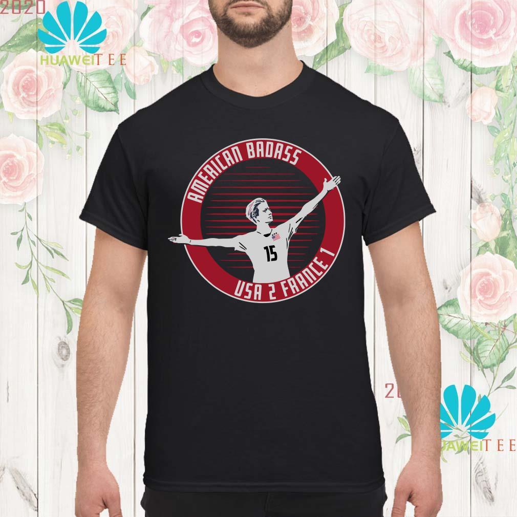 sale retailer 7e8f5 72392 Megan Rapinoe American Badass shirt
