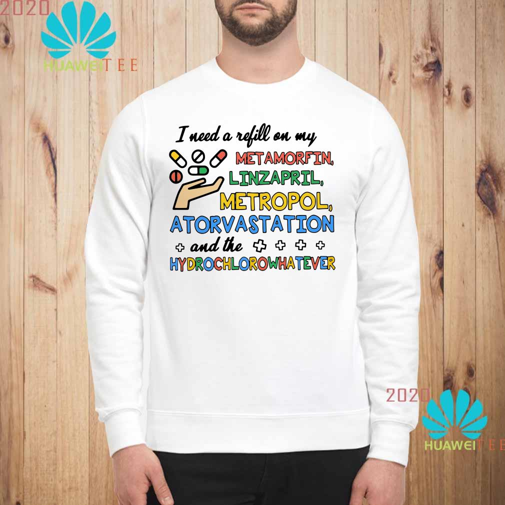I need a refill on my Metamorfin Linzapril Metropol Atorvastation Sweatshirt