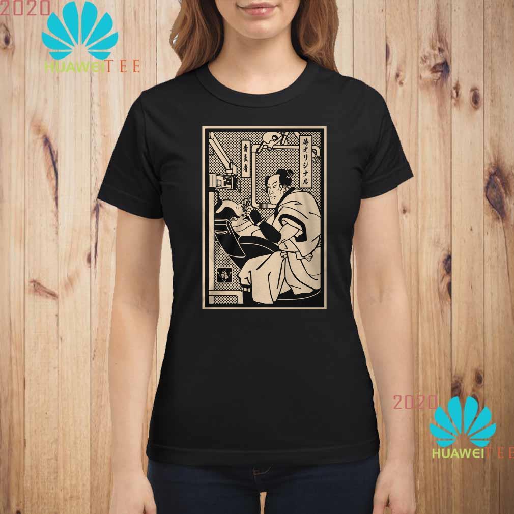 Samurai Dentist Ladies shirt