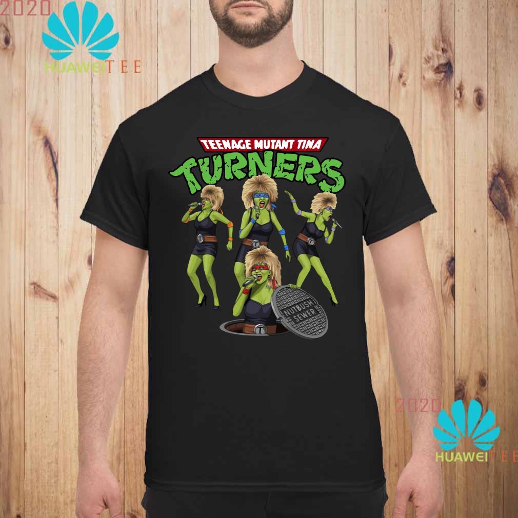 Teenage mutant Tina turners Men shirt