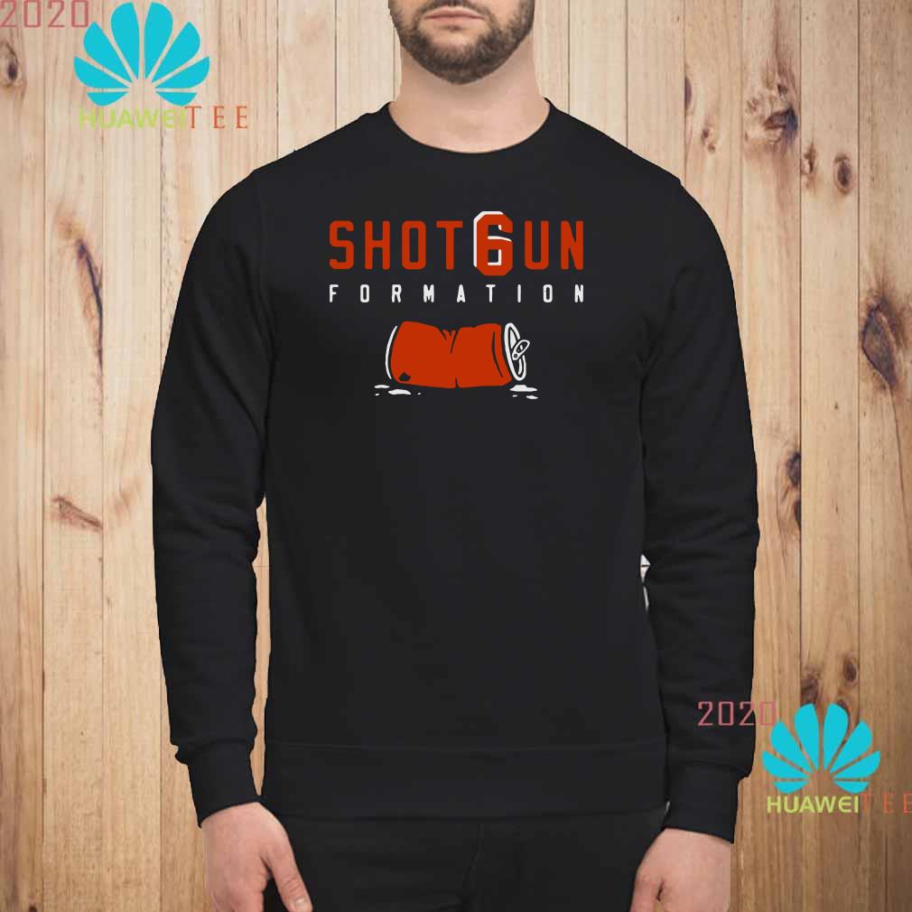 timeless design 4ef6a 0880c Baker Mayfield Shotgun Formation Shirt