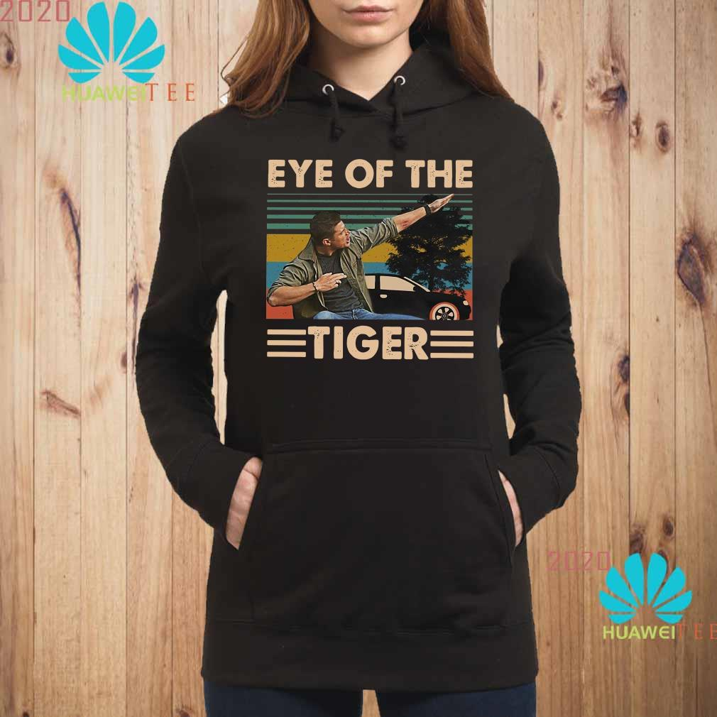 Dean Winchester Supernatural eye of the Tiger vintage Hoodie