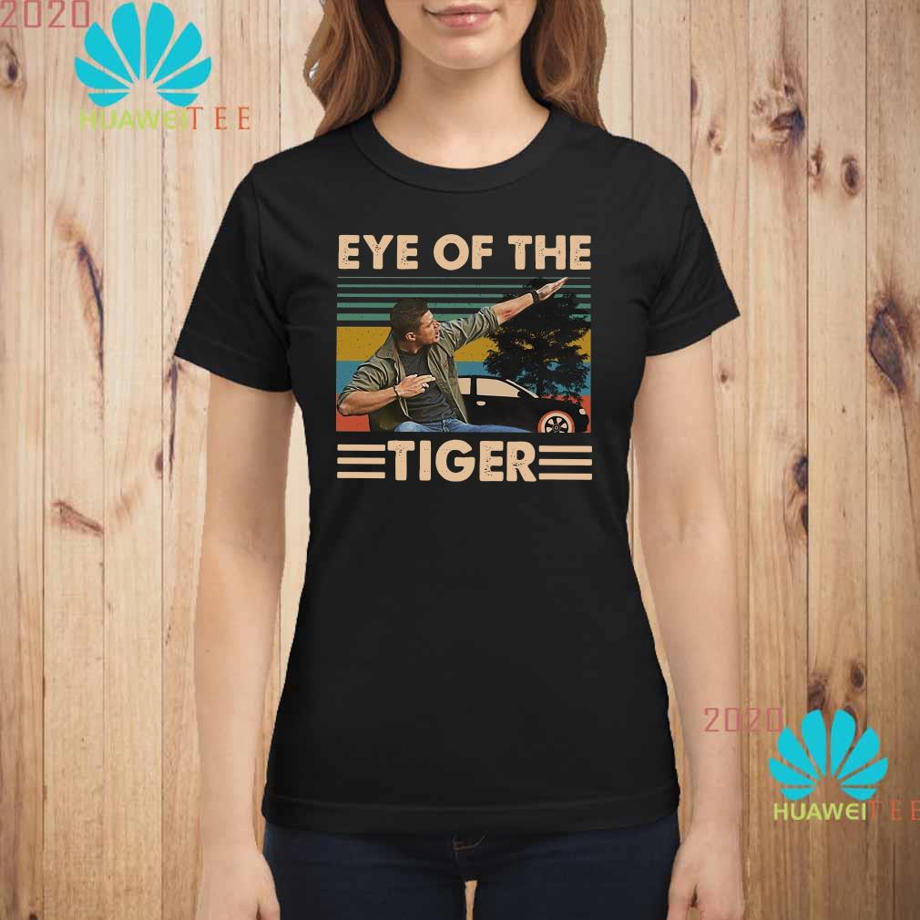 Dean Winchester Supernatural eye of the Tiger vintage Ladies shirt