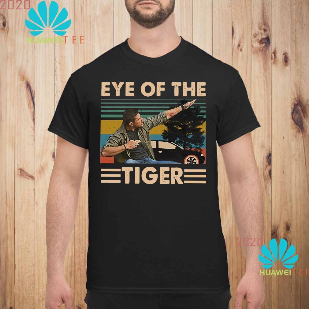 Dean Winchester Supernatural eye of the Tiger vintage Men shirt