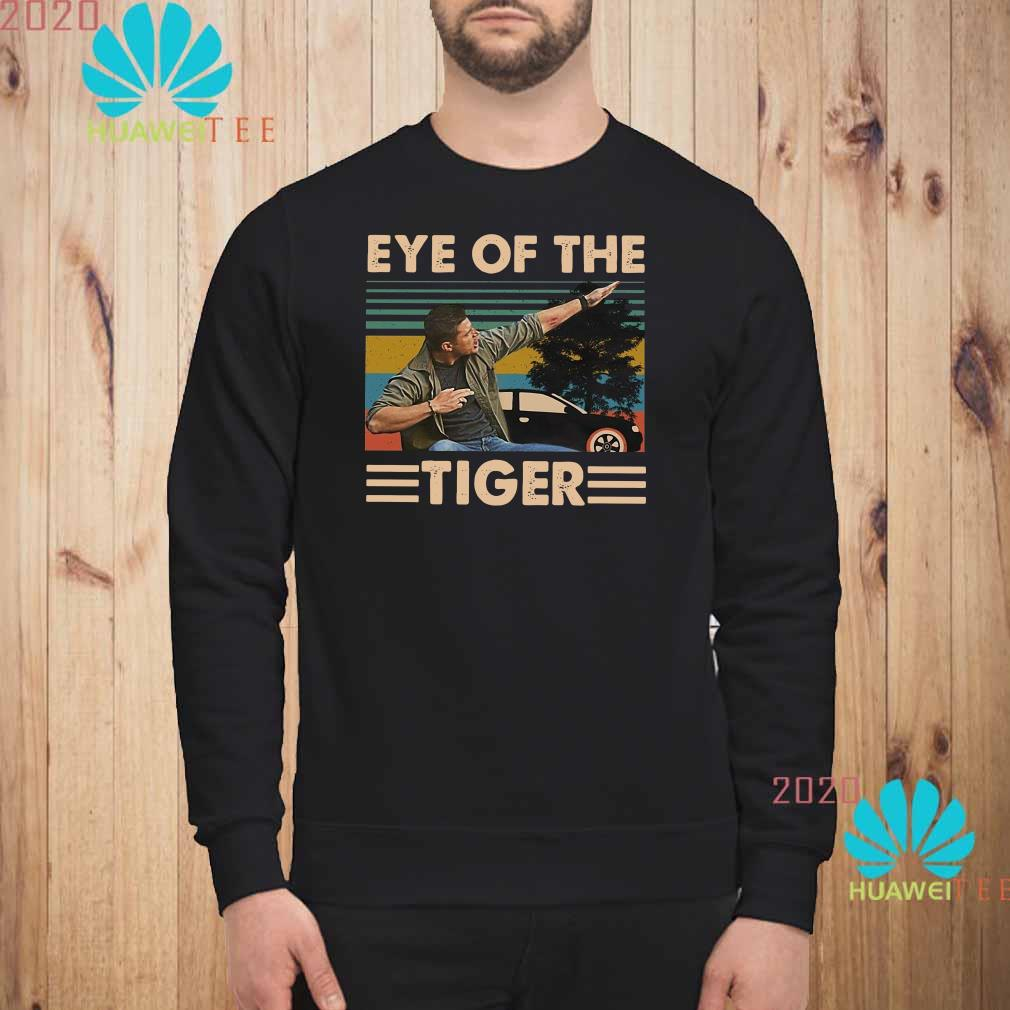 Dean Winchester Supernatural eye of the Tiger vintage Sweatshirt