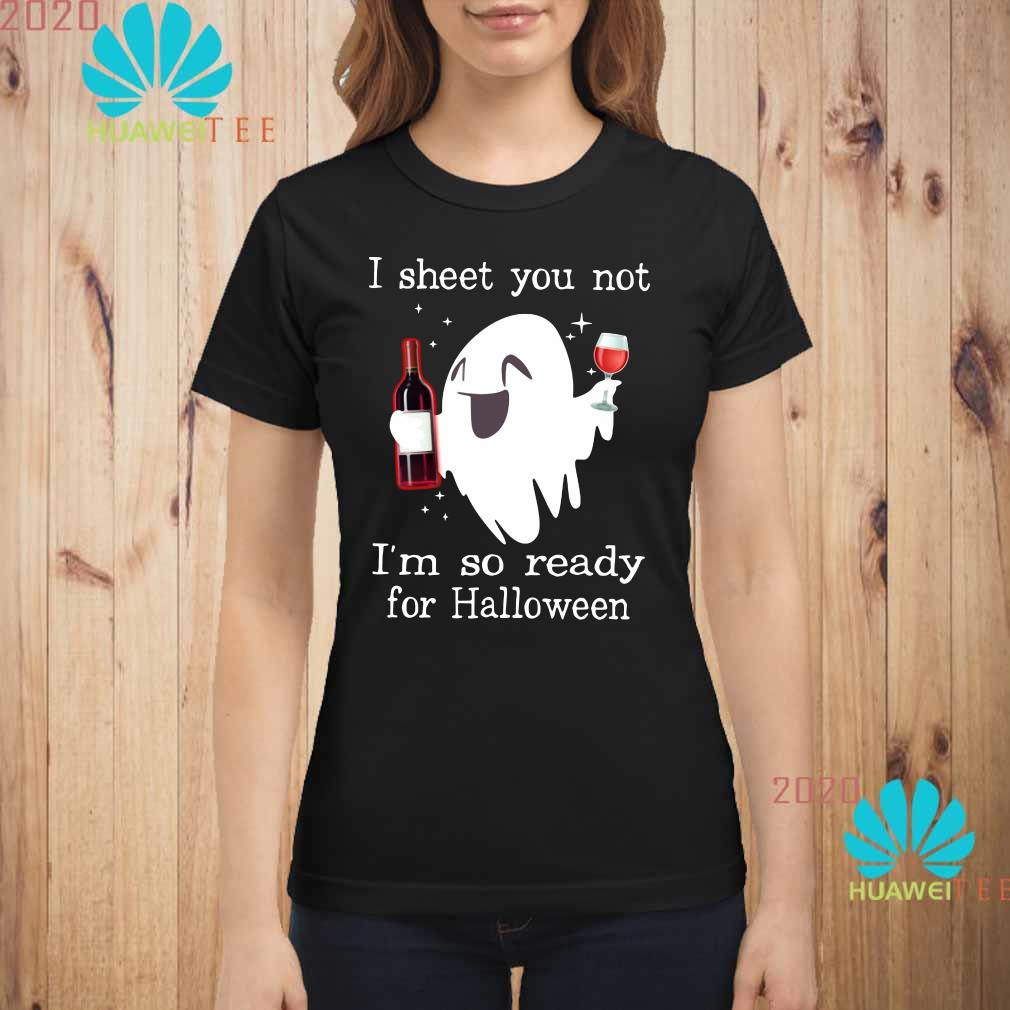 Details about  /Happy Hallowine Ghost Wine Womens Navy Shirt