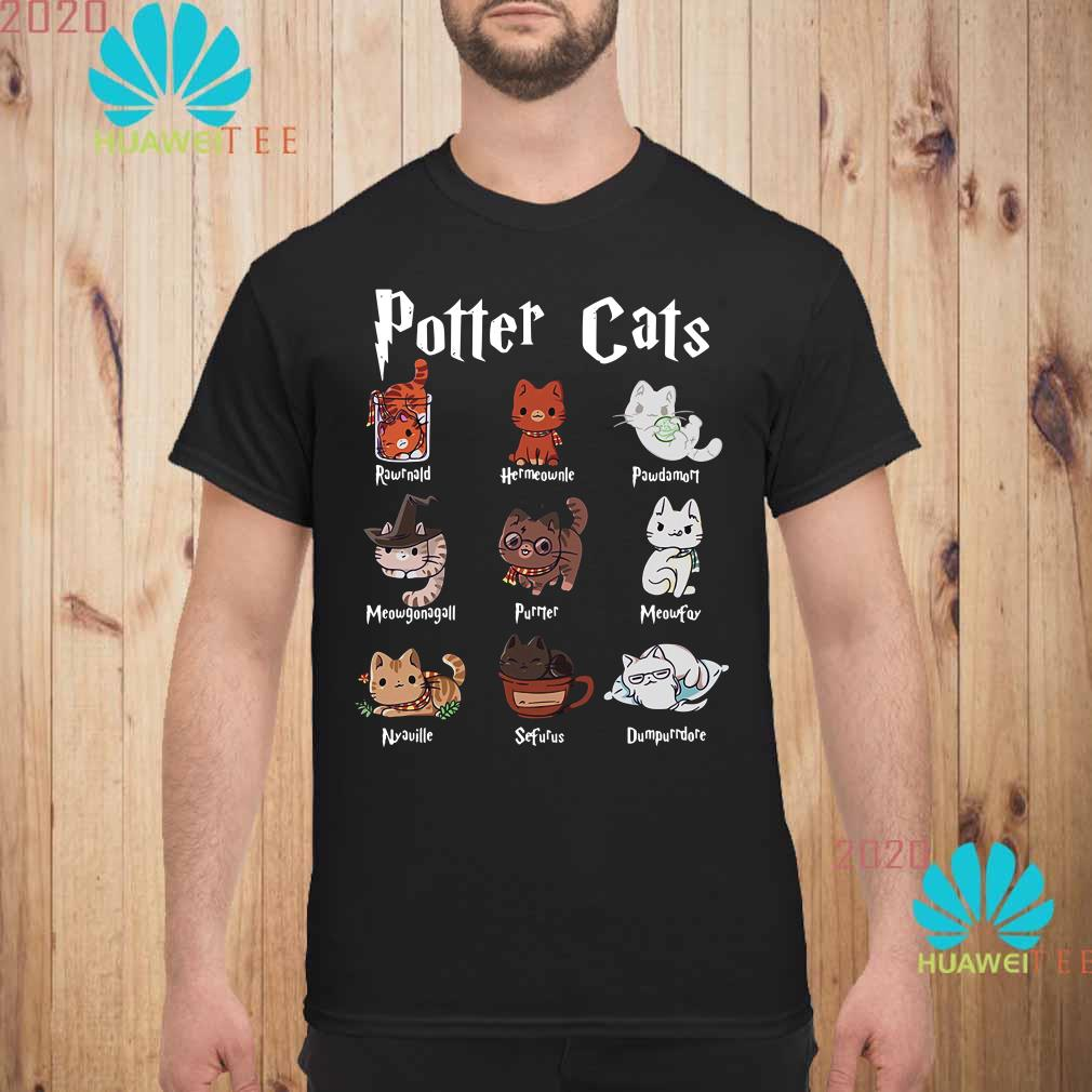 Harry Potter cats Men shirt