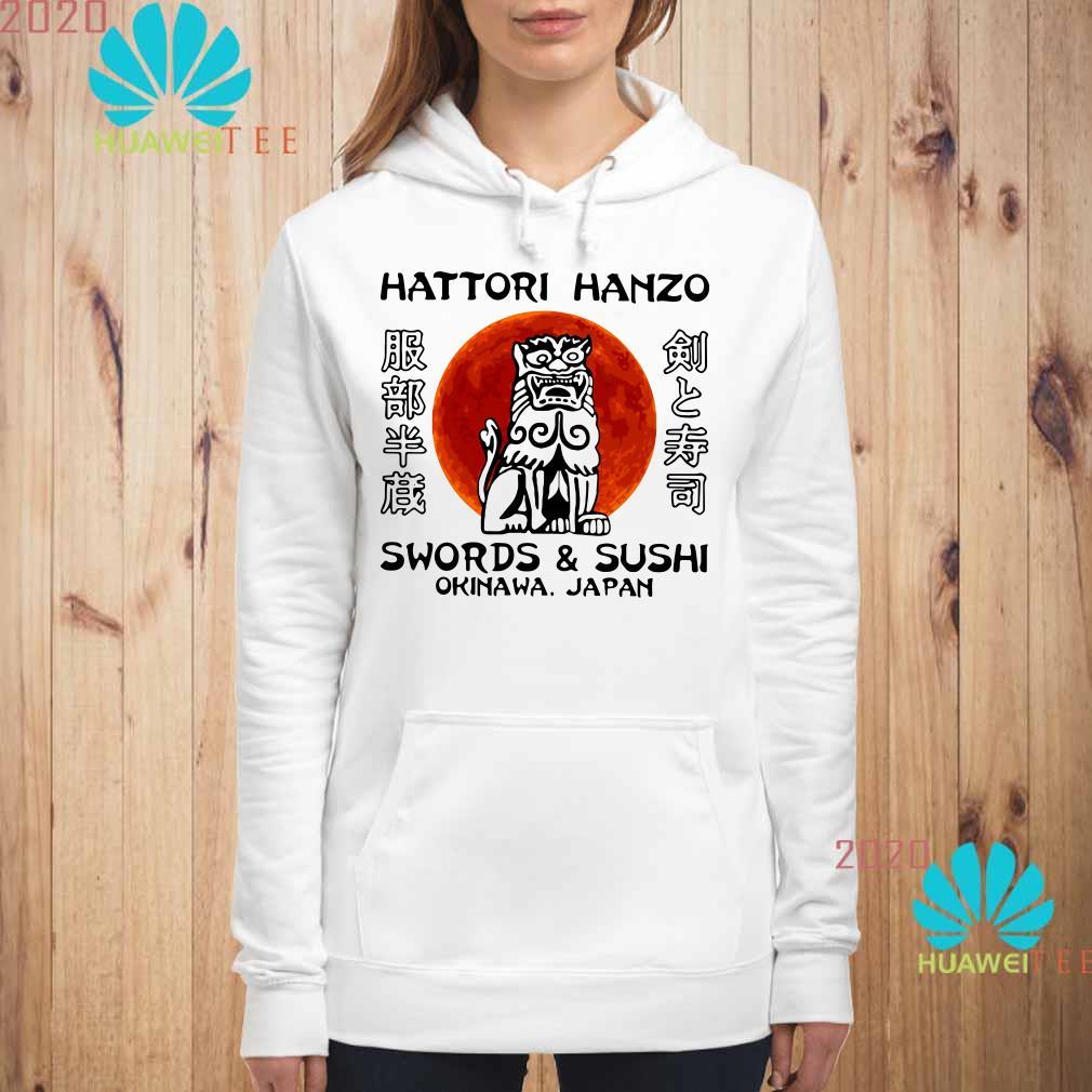 Hattori Hanzo Swords'Sushi Okinawa Japan Hoodie
