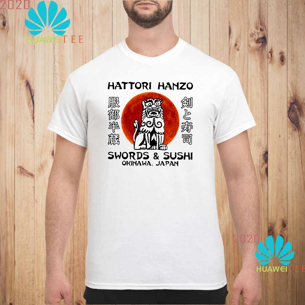 Hattori Hanzo Swords'Sushi Okinawa Japan Men shirt