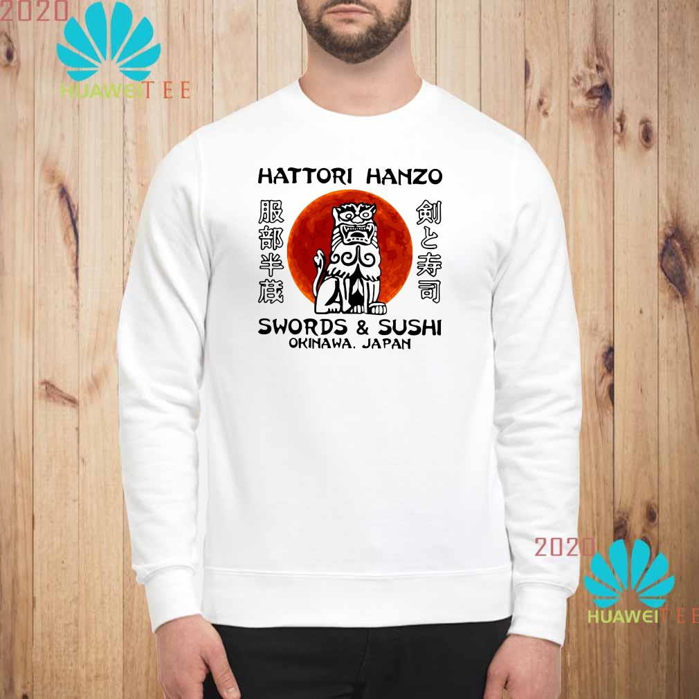 Hattori Hanzo Swords'Sushi Okinawa Japan Sweatshirt