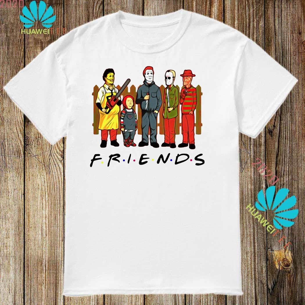 Halloween Friends Shirt.Horror Characters Friends Halloween Shirt