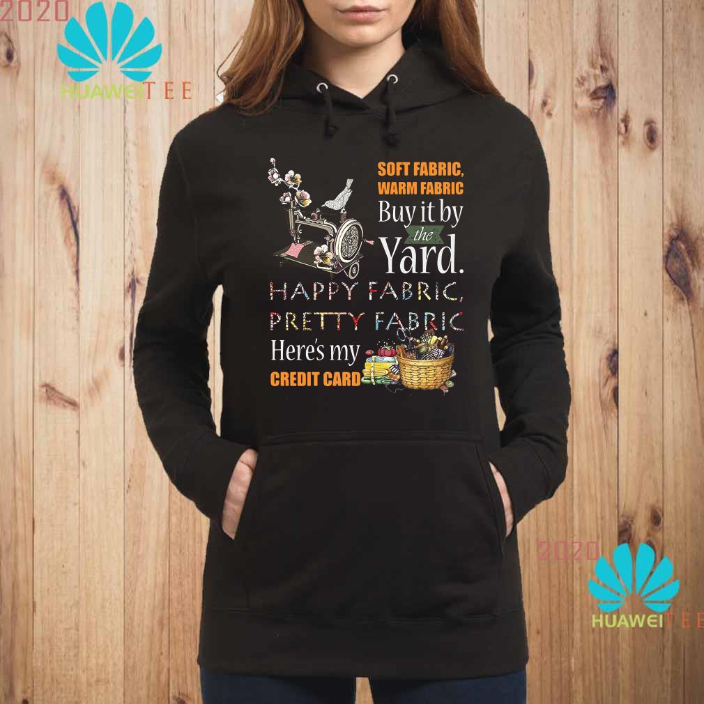 Soft fabric warm fabric buy it by the yard happy fabric pretty fabric here's my credit card Hoodie