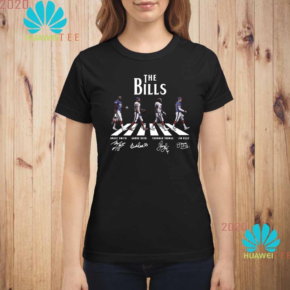 Abbey Road The Bills signature Ladies shirt