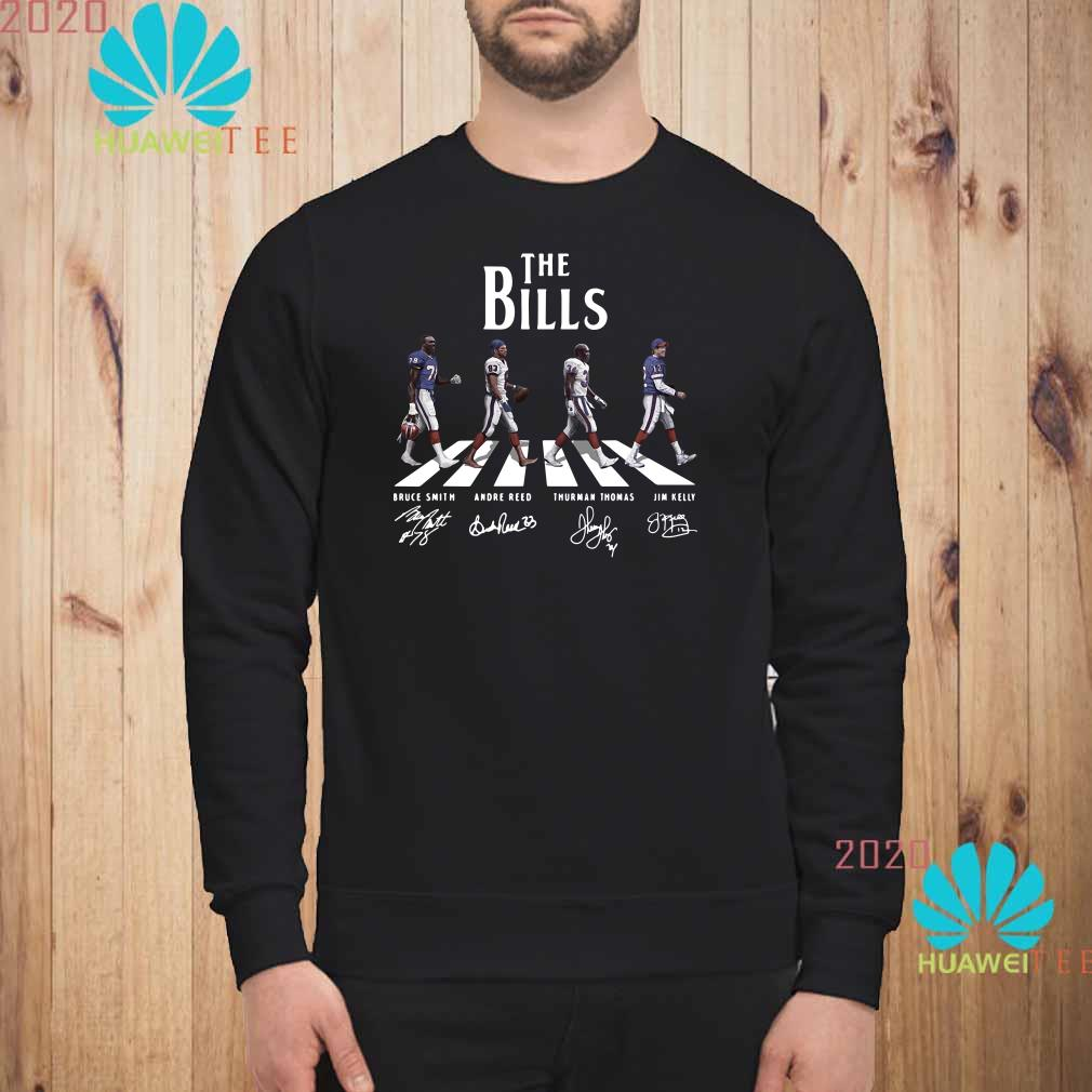 Abbey Road The Bills signature Sweatshirt