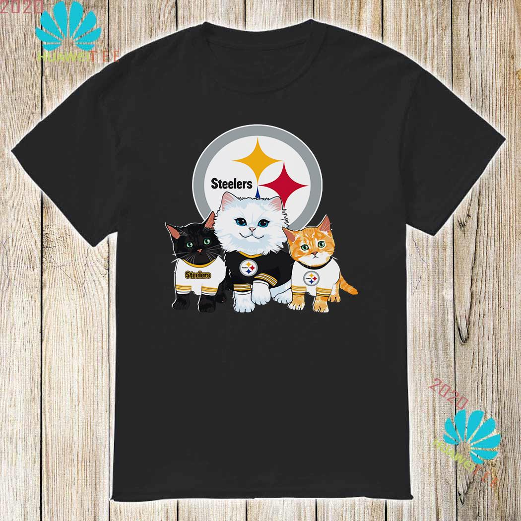 brand new f11d6 79e2f Cats Pittsburgh Steelers shirt