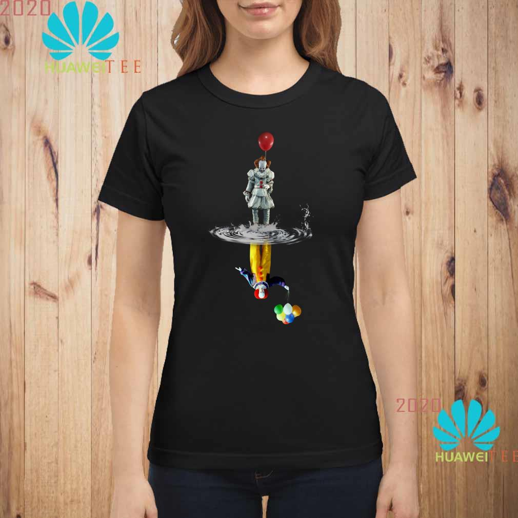 Pennywise reflection Water mirror The Clown ladies shirt