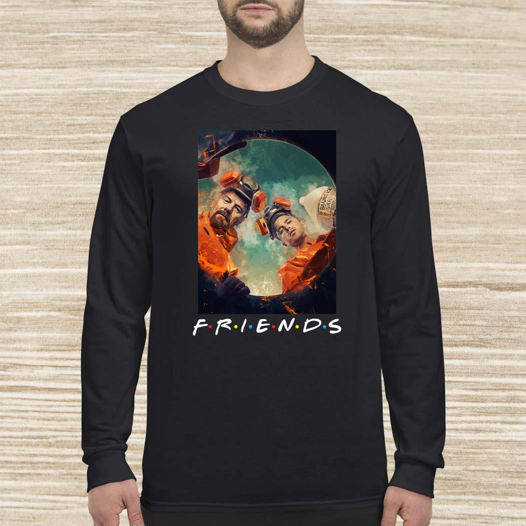 Breaking Bad Walter And Jesse Friends Long-sleeved