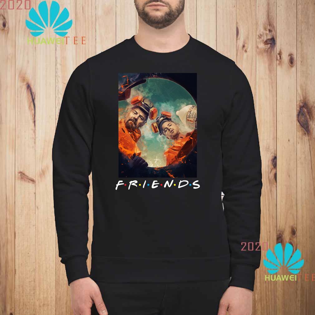 Breaking Bad Walter And Jesse Friends Sweatshirt